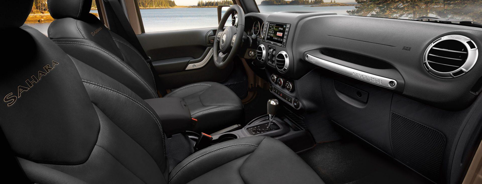 2018 Jeep Wrangler  Interior Features