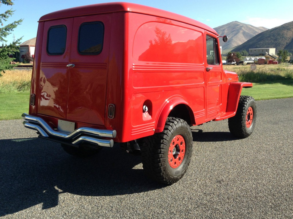 1959 Jeep Willys Wagon V8 For Sale