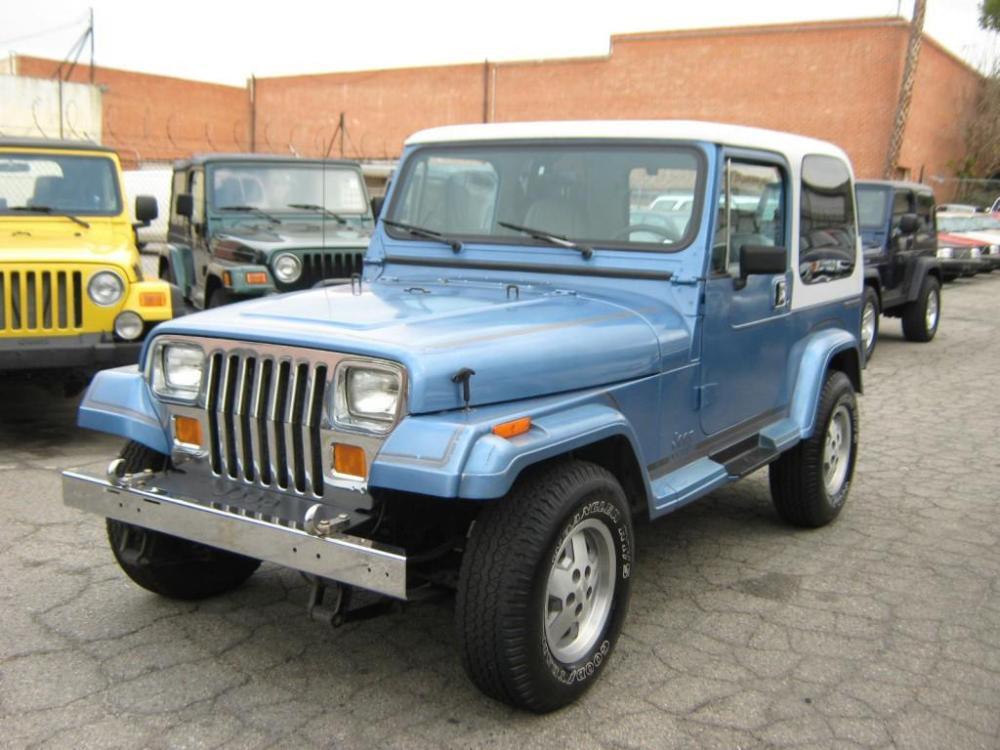 medium resolution of 1989 jeep wrangler yj laredo