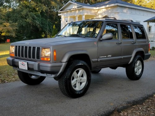 small resolution of 1998 jeep cherokee classic xj rare 5 speed manual 4x4 4 0 low miles for sale