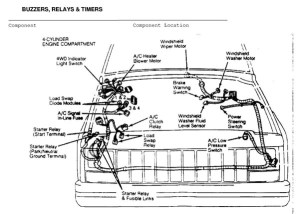 ELECTRICAL COMPONENT LOCATOR :: 1984  1991 :: Jeep Cherokee (XJ) :: Jeep Cherokee :: Online