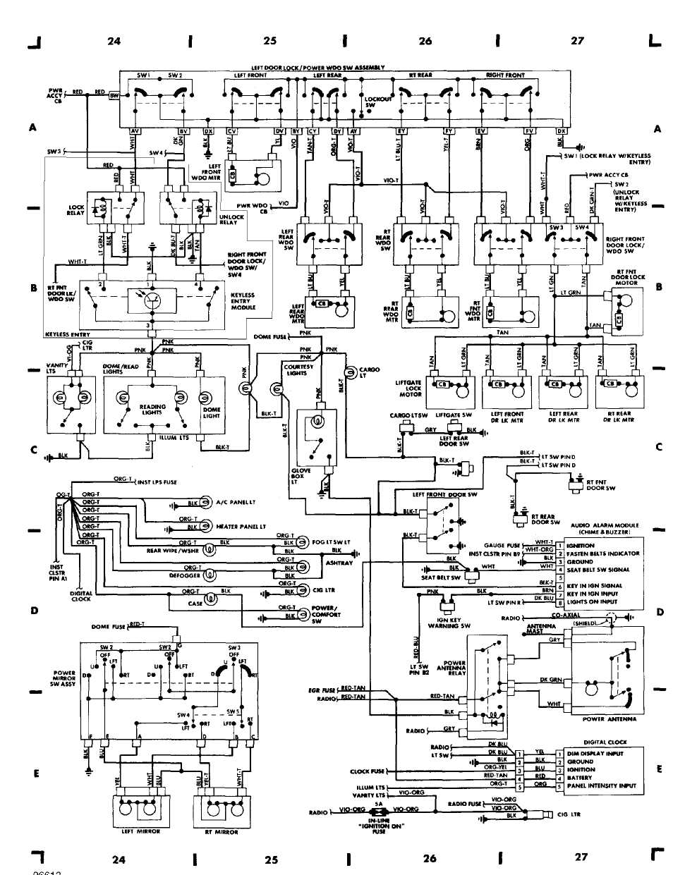 medium resolution of 1990 jeep wiring diagram