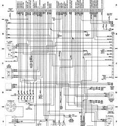 wiring diagrams 1984 1991 jeep cherokee xj jeep rv trailer wiring schematic jeep electrical wiring schematic [ 929 x 1210 Pixel ]