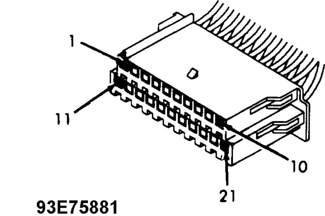 ANTI-THEFT SYSTEM :: 1993 :: Jeep Cherokee (XJ) :: Jeep