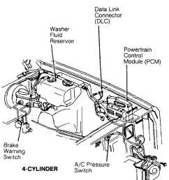 brake warning switch 4 cylinder  [ 1050 x 1218 Pixel ]