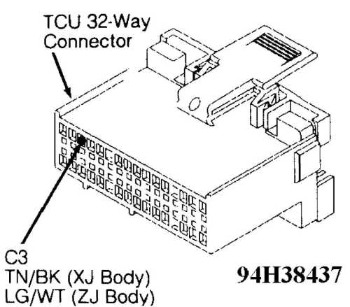 small resolution of 49 test 5a transmission 7 way connector male side