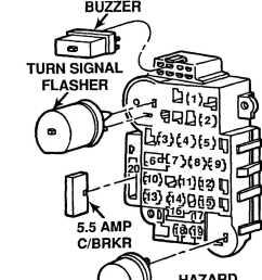 10 fuse panel identification 1992 models courtesy of chrysler corp  [ 984 x 1257 Pixel ]