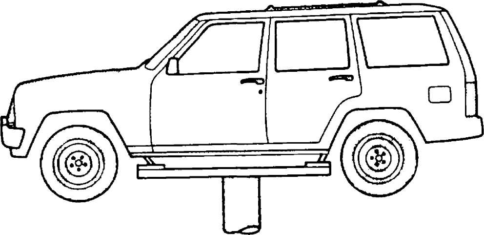 SCHEDULED SERVICES :: 1993 :: Jeep Cherokee (XJ) :: Jeep