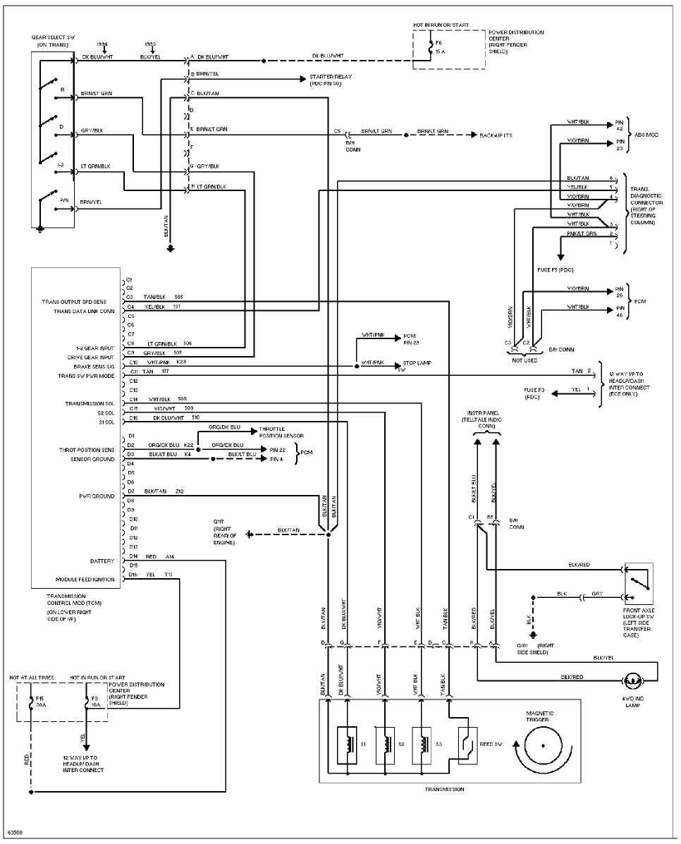wiring diagram jeep cherokee kj