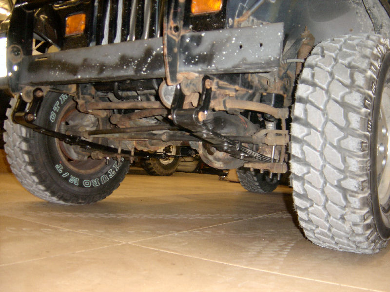 1995 Jeep Wrangler Suspension Diagram