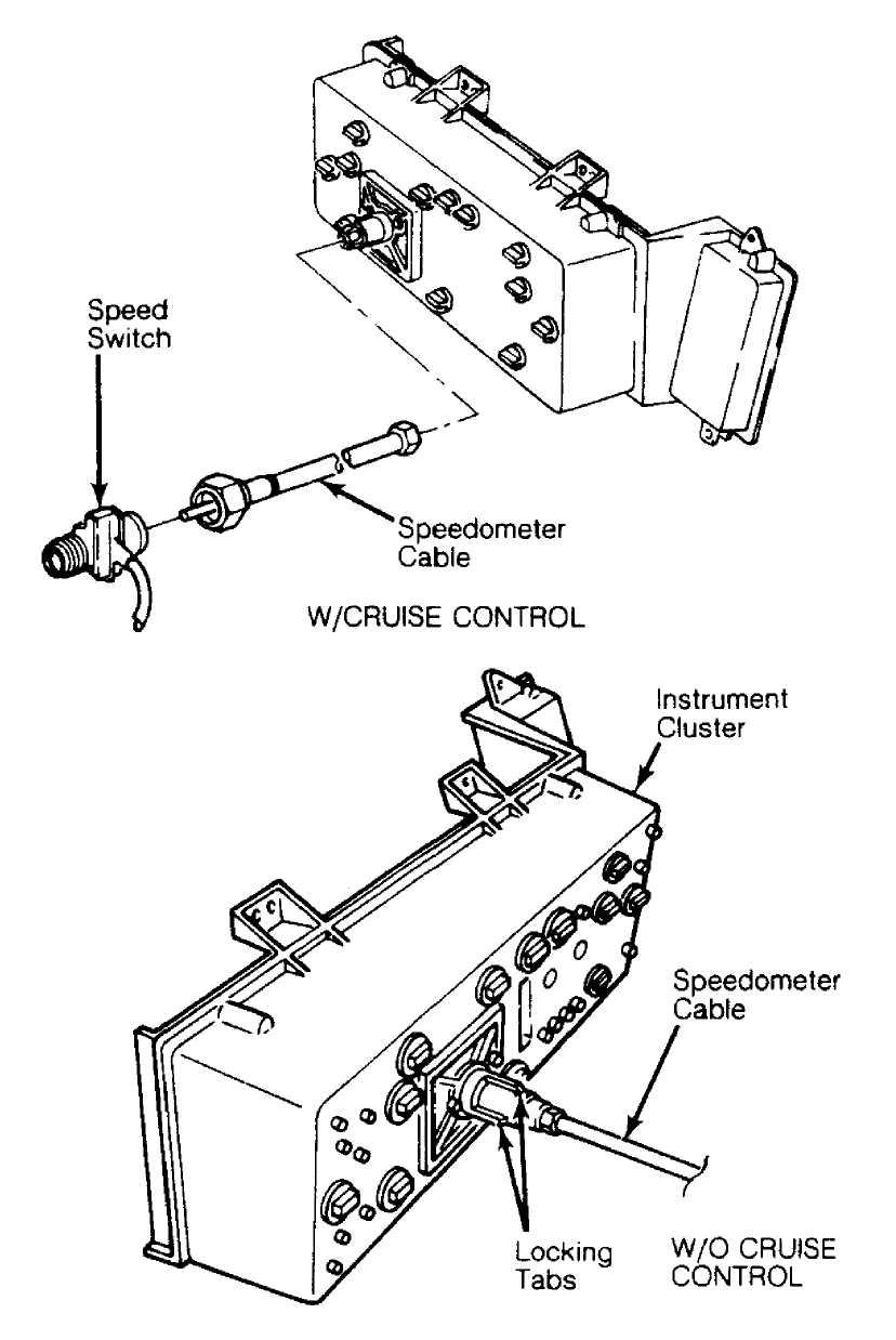 medium resolution of instrument panel standard 1984 1991 jeep cherokee xjjeep comanche fuel gauge wiring diagram 17