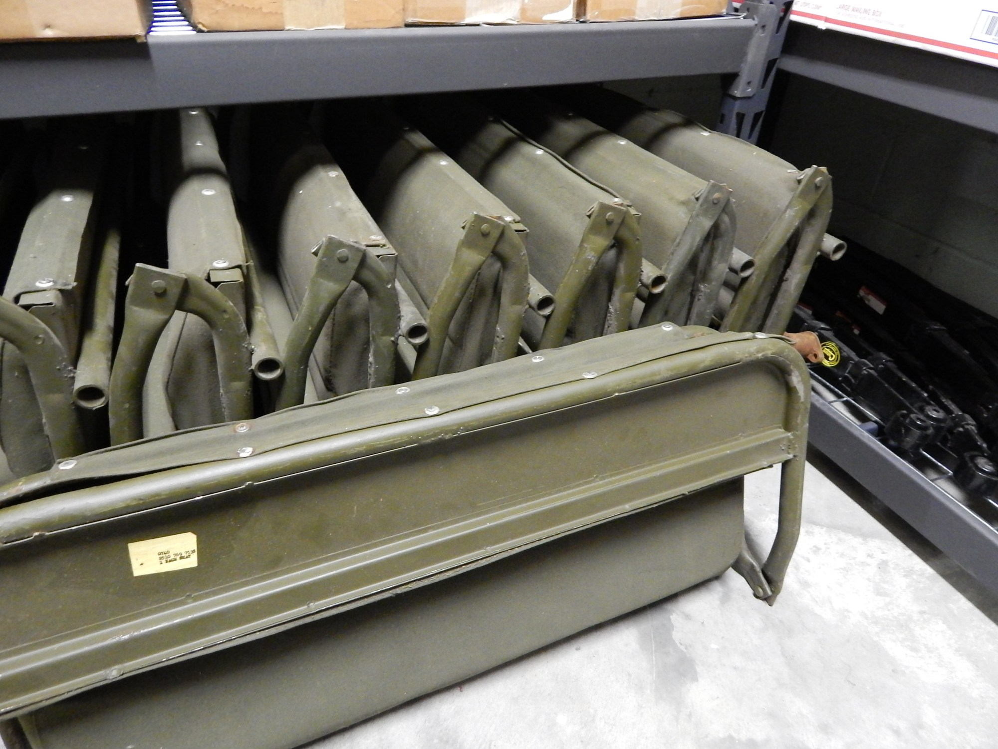 hight resolution of click on images for a larger view nos willys m38 m38a1 rear seat