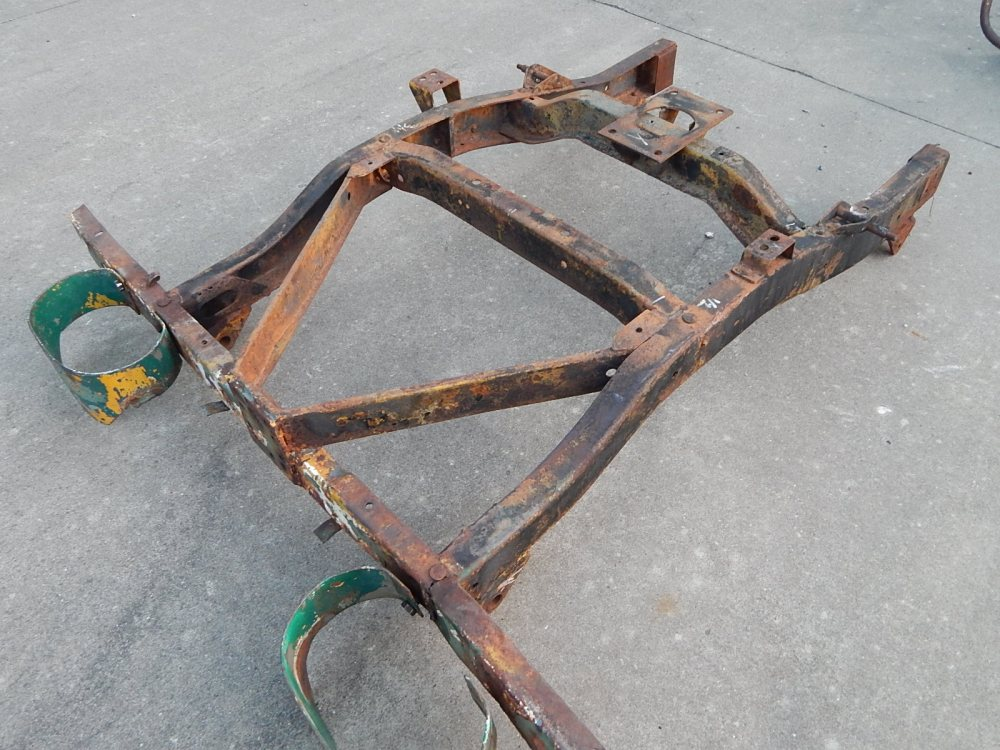 medium resolution of willys m38a1 frame rear section