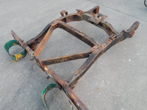 small resolution of willys m38a1 frame rear section