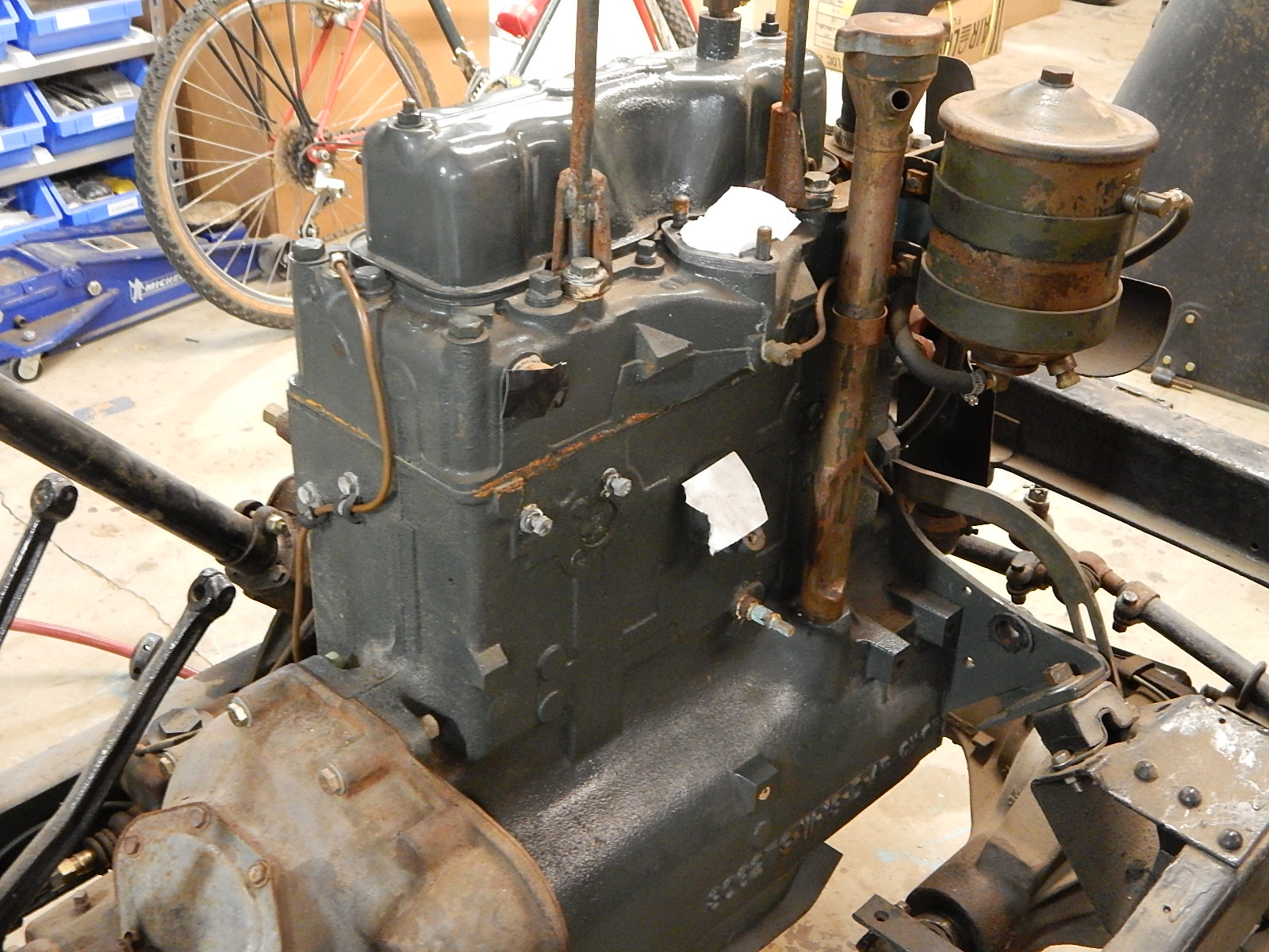 hight resolution of willys m38a1 f134 rebuilt jeep engine 1 650