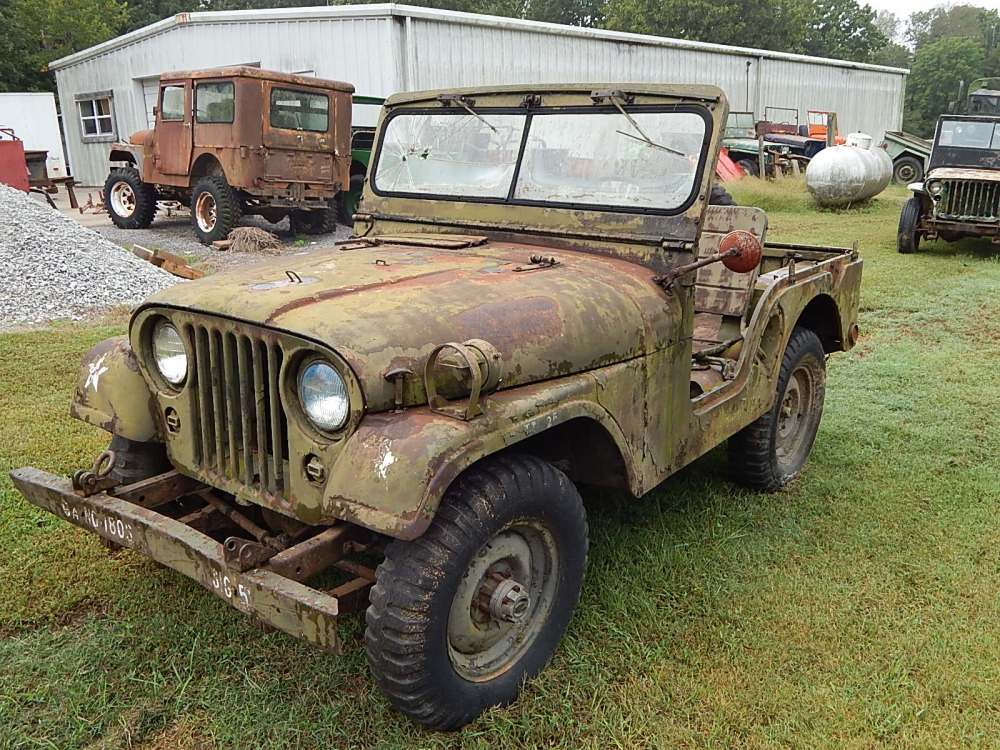 medium resolution of 1954 willys m38a1 army jeep for sale