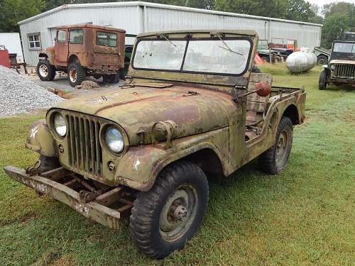 small resolution of 1954 willys m38a1 army jeep for sale