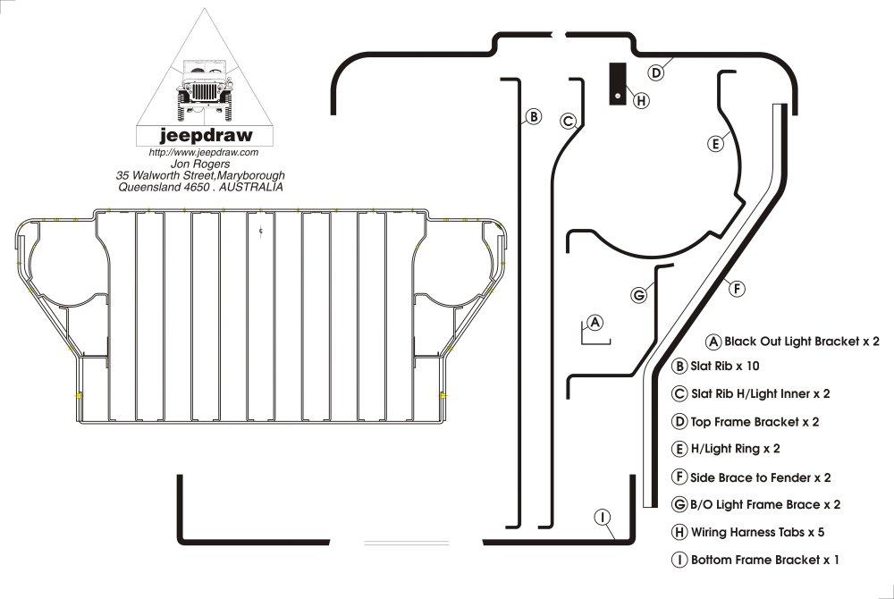make jeep mb wiring harness