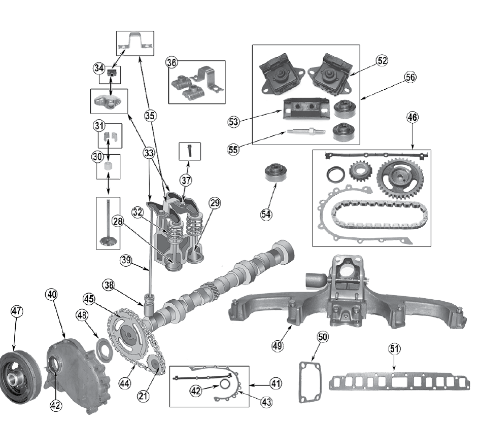 Crankshaft Pilot Bearing, (2.5L Manual) (J3250005