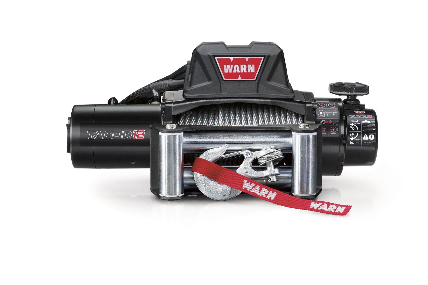 hight resolution of warn tabor 12k winch 97015 jm 02050 warn