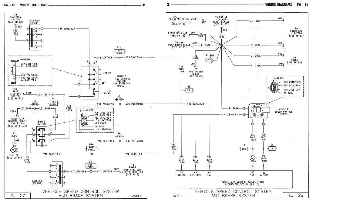 Jeep Grand Cherokee Wiring Schematic