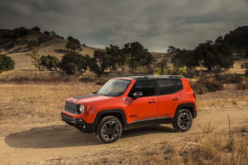 2017 Jeep® Renegade Trailhawk