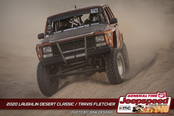 Jeepspeed, Travis Fletcher, Laughlin Desert Classic, General Tire, KMC Wheels, Bink Designs