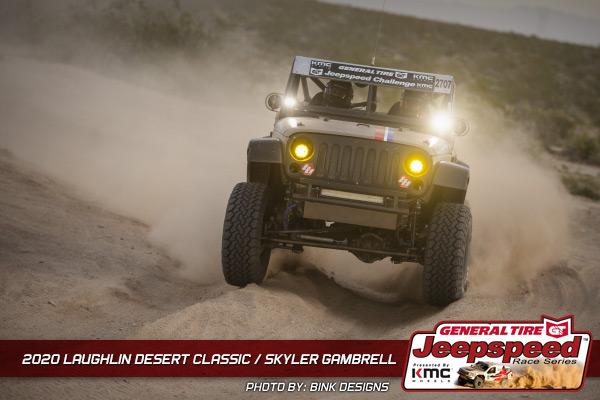 Jeepspeed, Skyler Gambrell, Laughlin Desert Classic, General Tire, KMC Wheels, Bink Designs