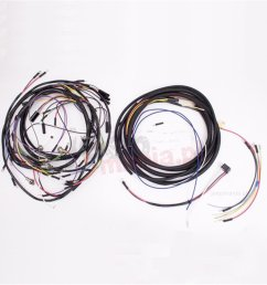 wiring harness w cloth cover 57 65 jeep cj5 [ 1500 x 1000 Pixel ]