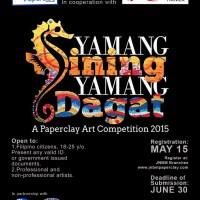 Yamang Sining, Yamang Dagat Paperclay Art Competition