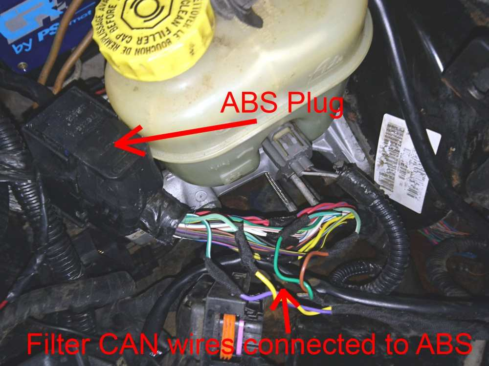 medium resolution of jeep grand cherokee 2 7 crd axle ratio replace abs can bus filter connection