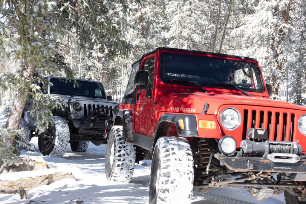 Jeep Tour Colorado Native Jeeps Snow Wheeling