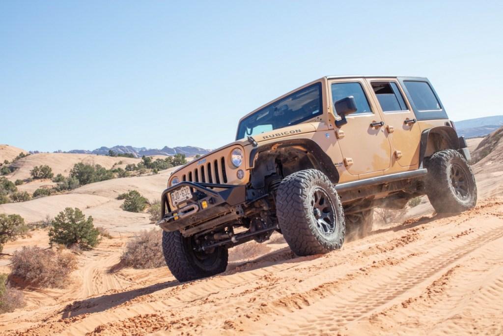 Jeep Tour Colorado Native Jeeps JK 2014