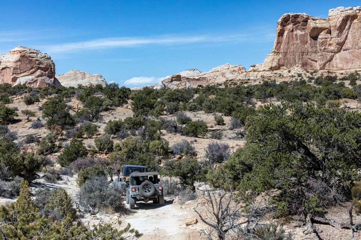 Native Jeeps San Rafael Swell