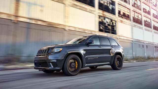 2018 Jeep Grand Cherokee SRT8 Hellcat First Drive
