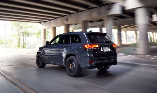 2018 Jeep Grand Cherokee Trackhawk rear view