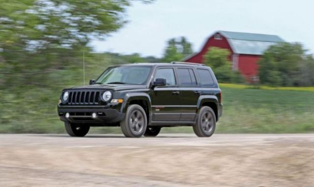 2018 Jeep Patriot front