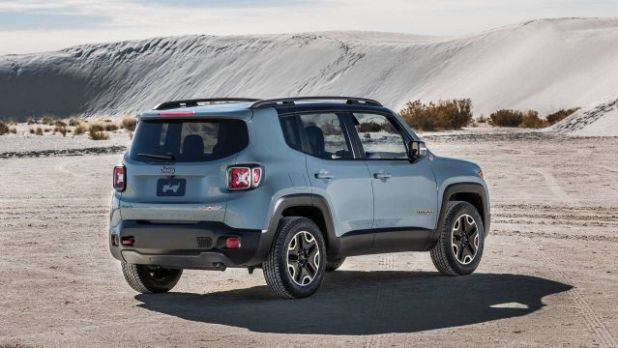 2018 Jeep Renegade rear