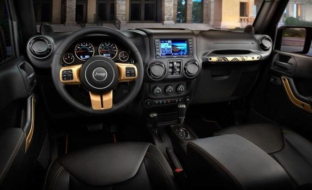 2018 Jeep Wrangler Diesel interior