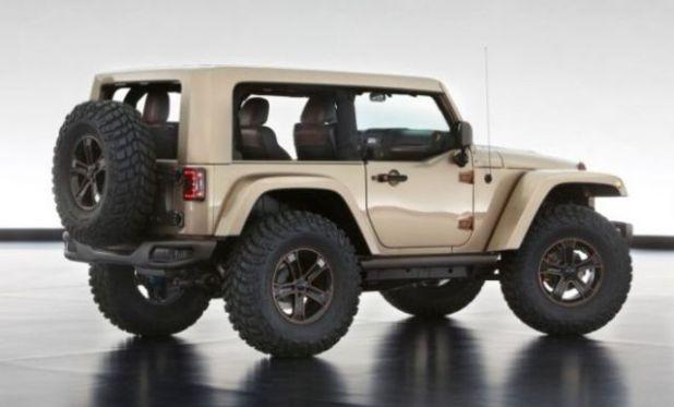 2018 Jeep Wrangler Diesel rear