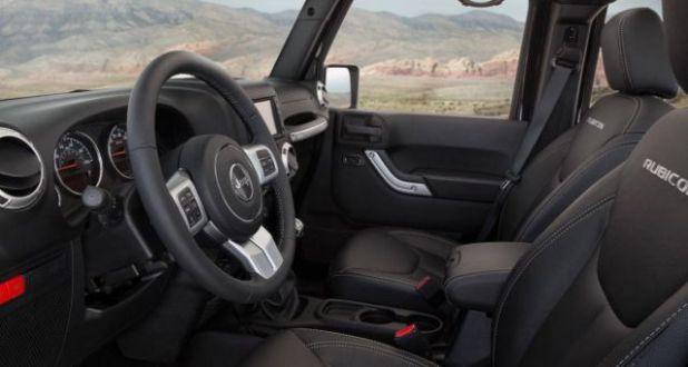 2018 Jeep Wrangler Rubicon interior