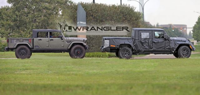 2019 Jeep Wrangler Pickup Truck News, Photos