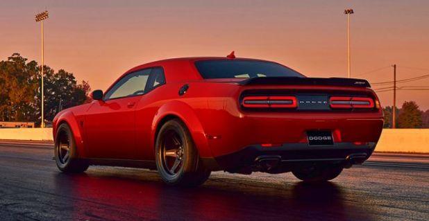 2019 Dodge Challenger SRT Demon rear