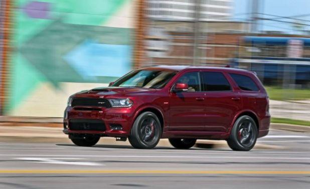 2019 Dodge Durango SRT front
