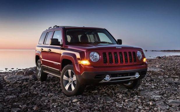 2019 Jeep Patriot front