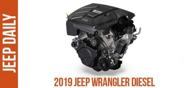 2019 Jeep Wrangler Diesel engine
