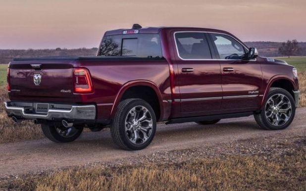 2019 Ram 1500 rear
