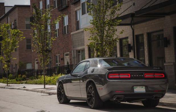 2019 Dodge Challenger rear