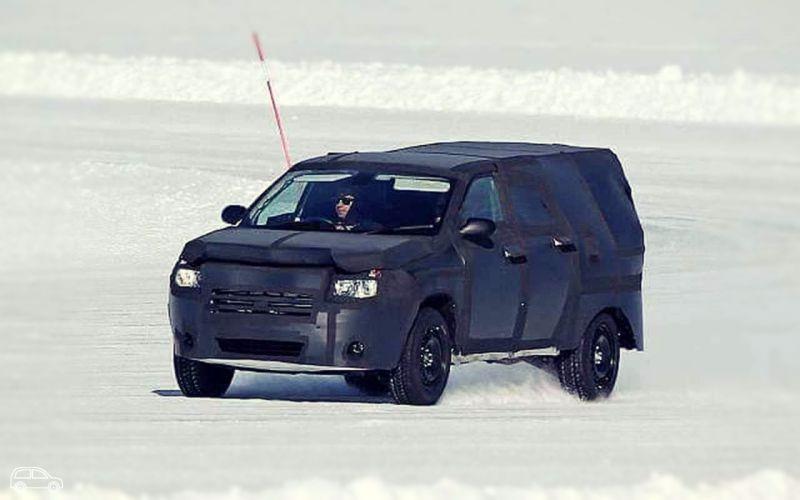 2019 Dodge Dakota Spy Photos, Review