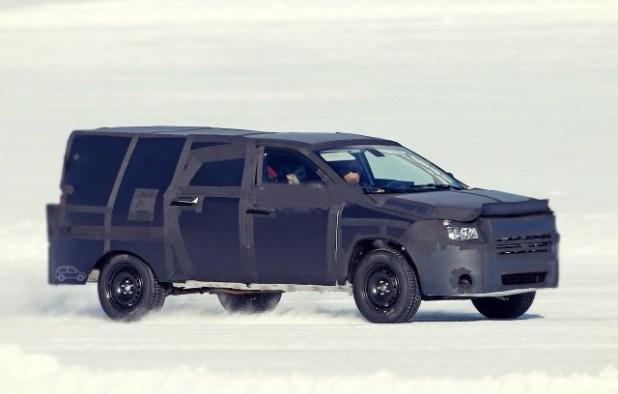 2019 Dodge Dakota Spy Photos, Review - Jeep Trend